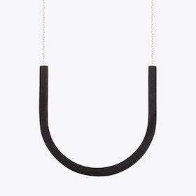 Framed Pendant U in Black
