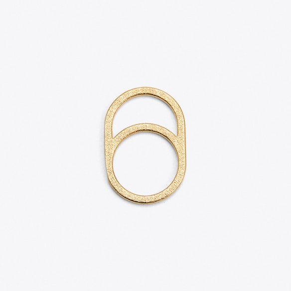 Framed Ring 0 in Gold by OLA Jewelry - Fy