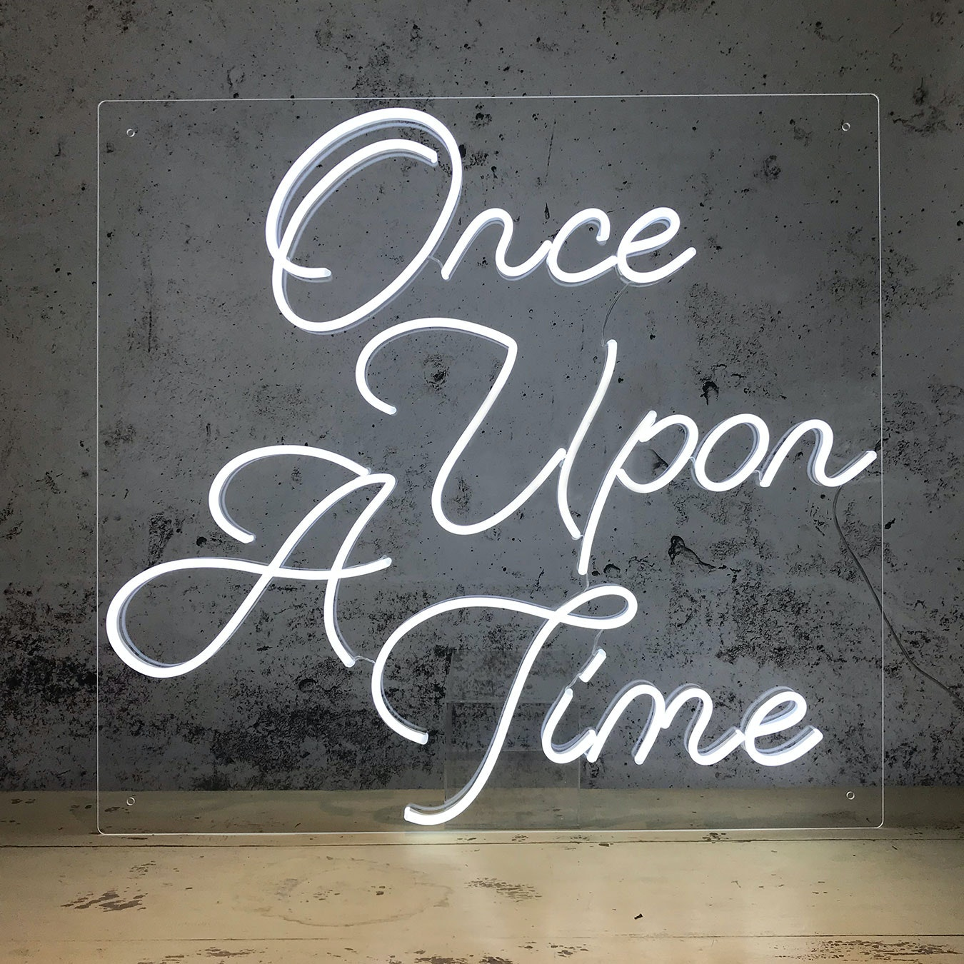 Led Neon Once Upon A Time By Love Inc Fy