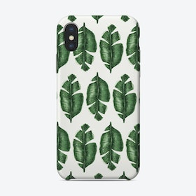 Tropical Leaf Pattern Phone Case
