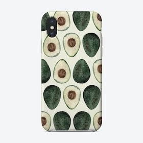 Avocado Pattern Phone Case