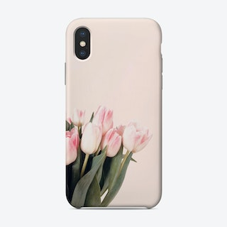 Pink Tulips Phone Case