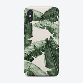 Under Palm Leaves Phone Case