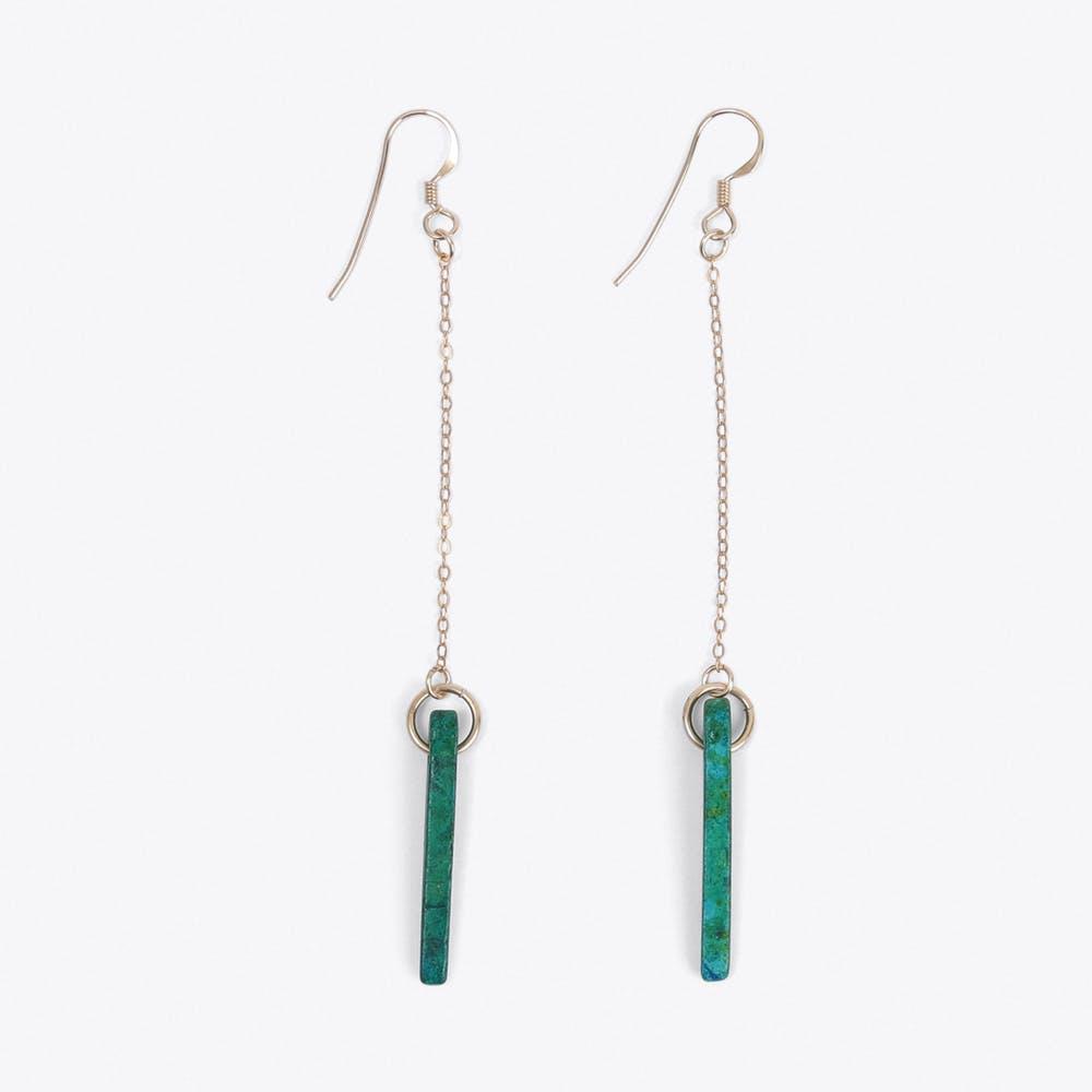 Ceramic Drop Earrings
