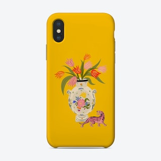 Porcelain And Tulips Phone Case