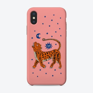 Tiger Temple Stars Pink Phone Case