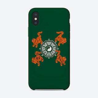 Bagua Tigers Green Phone Case