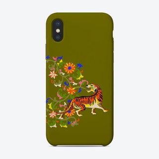 Tiger Tapestry Phone Case