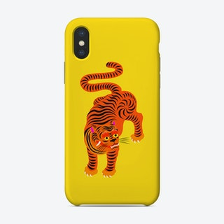 Tiger Yellow Phone Case