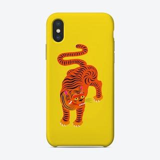 Tiger Yellow Phone Case