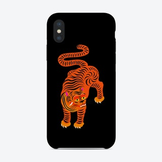 Tiger Black Phone Case
