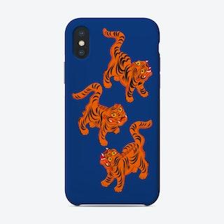 Tigers Blue Phone Case
