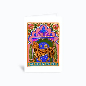Tiger Temple Greetings Card