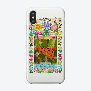 Tiger Garden Phone Case