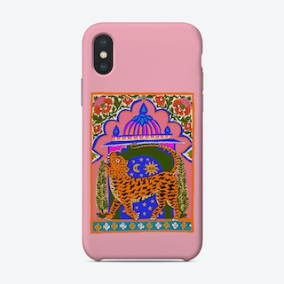 Tiger Temple Pink Phone Case