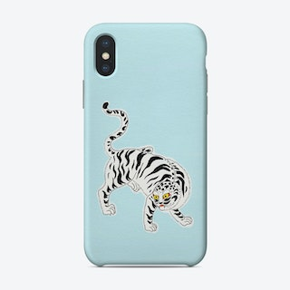White Tiger Phone Case