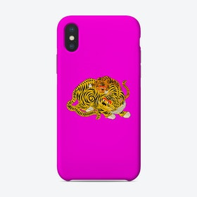 Mama 2 Fluo Pink Phone Case