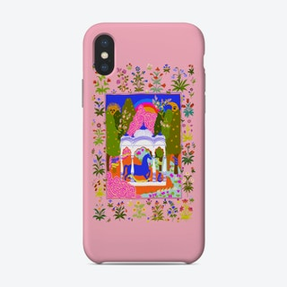 Horse Temple Pink Phone Case