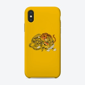 Mama 2 Yellow Phone Case