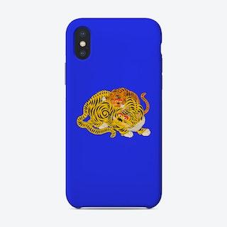 Mama 2 Blue Phone Case