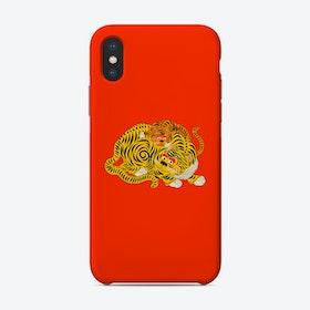 Mama 2 Red Phone Case