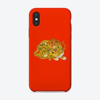 Mama 2 Red Phone Case
