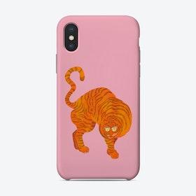 Tiger Blue Pink Phone Case