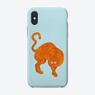 Tiger Blue Phone Case