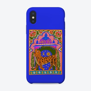 Tiger Temple Blue Phone Case