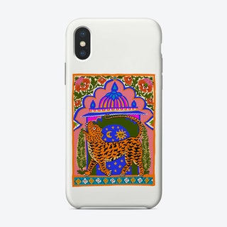 Tiger Temple White Phone Case