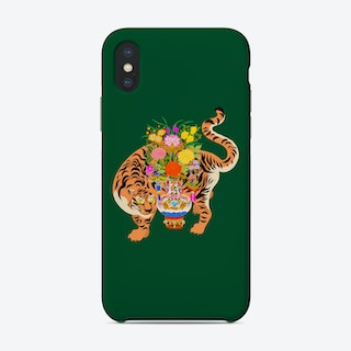 Good Luck Tiger Phone Case