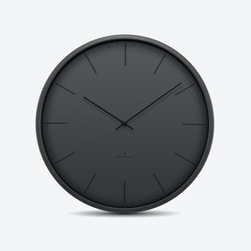 Huygens Tone Black Wall Clock