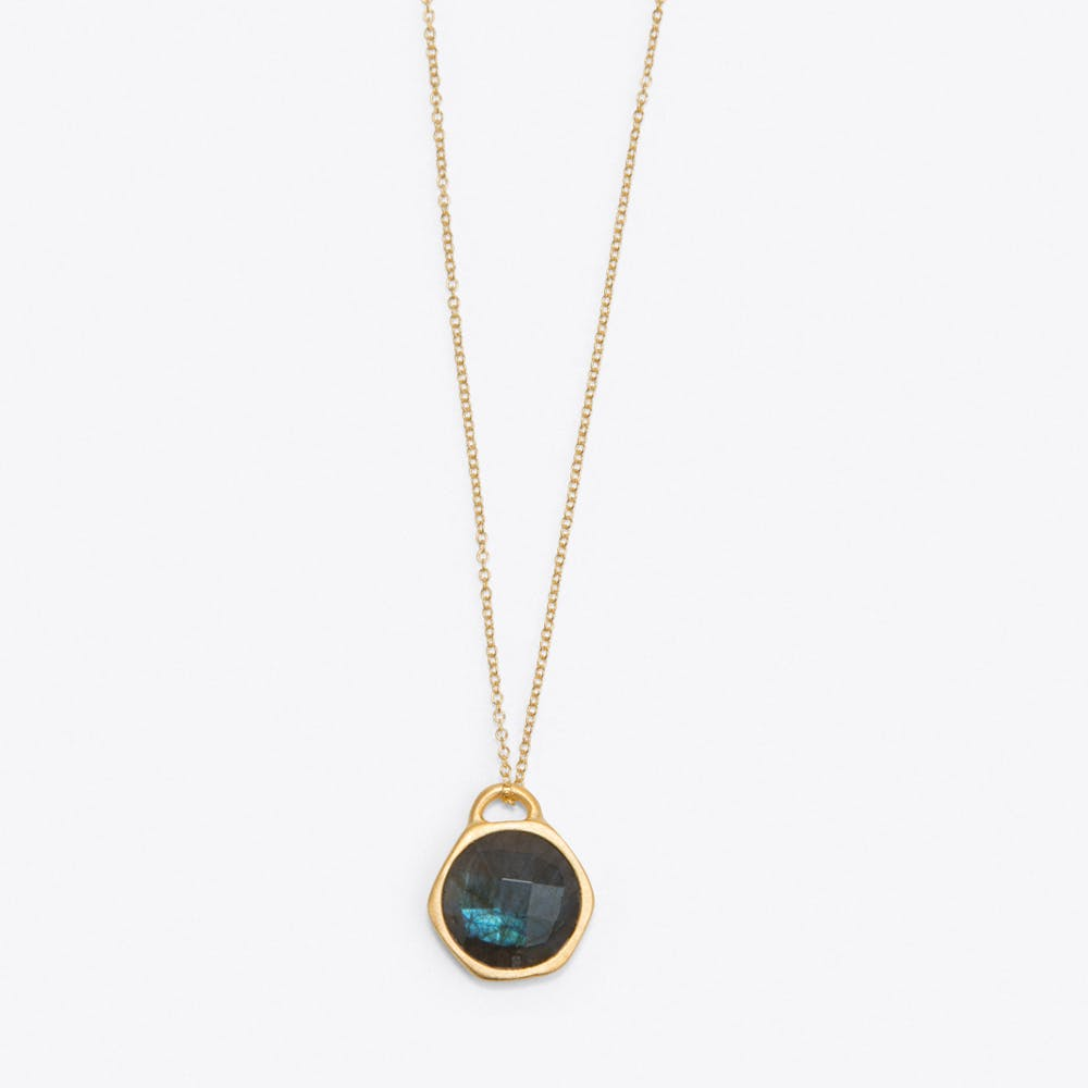 Labradorite Birthstone Necklace