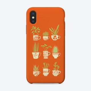 Teacup Succulents Phone Case