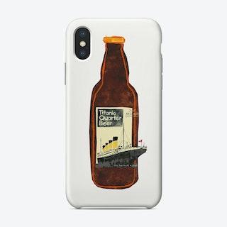 Titanic Quarter Beer Phone Case