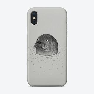 Sad Seal Phone Case