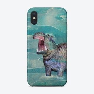Hippo Phone Case