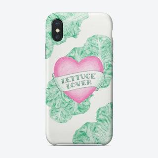 Lettuce Lover Phone Case