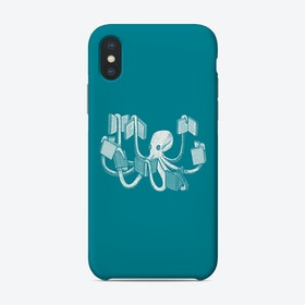 Armed With Knowledge Phone Case