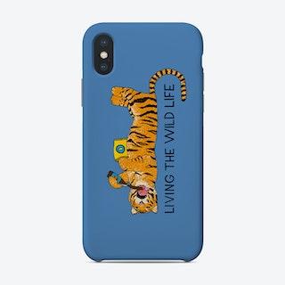Living The Wild Life Phone Case