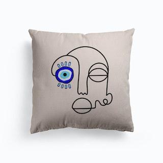 No Evil Allowed Canvas Cushion