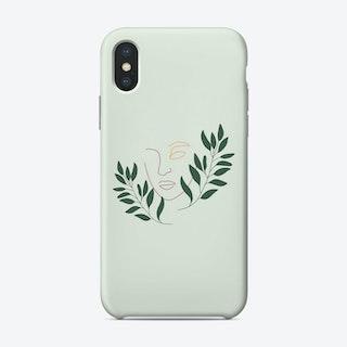 Leaf The Girl Phone Case