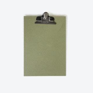 Clipboard Green - 10 pcs