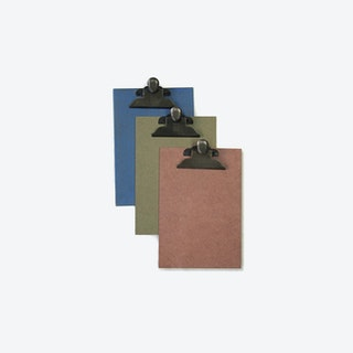 A5 Clipboard - 5 each color - 15 total