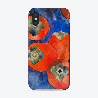 Watercolour Persimmones  Phone Case