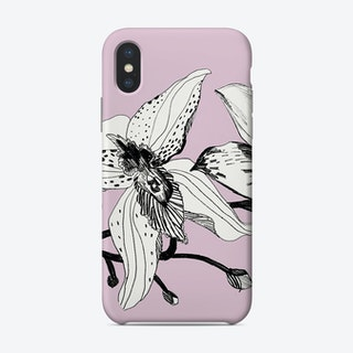 Expressive Orchids 1  Phone Case