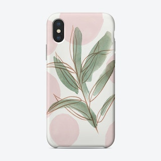 Green Leaves  Phone Case