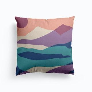 Mountain Sunset Cushion