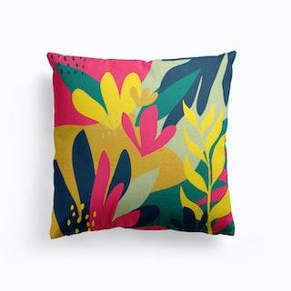 Jungle Flowers Cushion