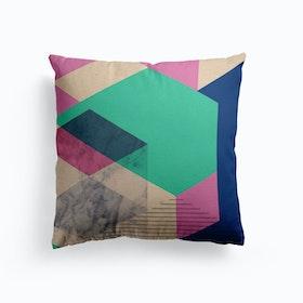 Hexagon Layers Cushion